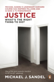 Justice : What's the Right Thing to Do?, Paperback Book