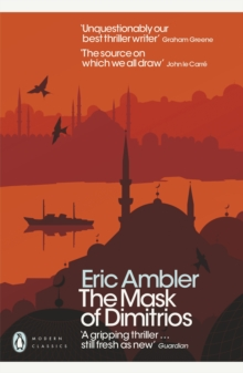 The Mask of Dimitrios, Paperback / softback Book