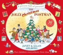 The Jolly Christmas Postman, Hardback Book
