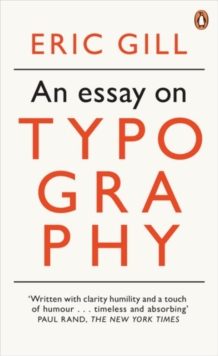 An Essay on Typography, Paperback Book
