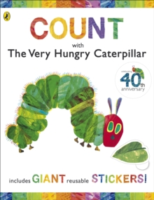 Count  with the Very Hungry Caterpillar (Sticker Book), Spiral bound Book