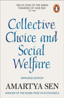 Collective Choice and Social Welfare : Expanded Edition, Paperback Book