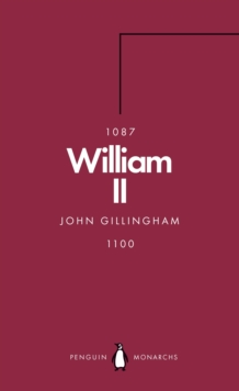 William II (Penguin Monarchs) : The Red King, Paperback / softback Book