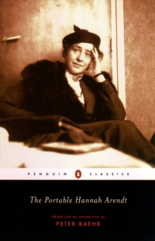 The Portable Hannah Arendt, Paperback / softback Book