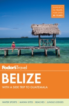 Fodor's Belize, Paperback / softback Book