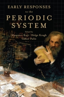 Early Responses to the Periodic System, Hardback Book