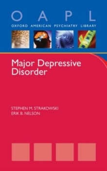 Major Depressive Disorder, Paperback / softback Book