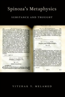 Spinoza's Metaphysics : Substance and Thought, Paperback / softback Book