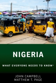 Nigeria : What Everyone Needs to Know (R), Paperback / softback Book