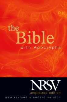 New Revised Standard Version Bible: Popular Text Edition with Apocrypha, Hardback Book