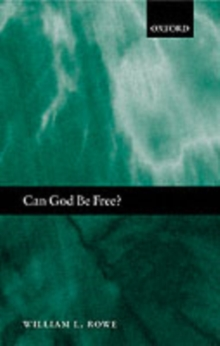 Can God Be Free?, PDF eBook