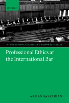 Professional Ethics at the International Bar, PDF eBook