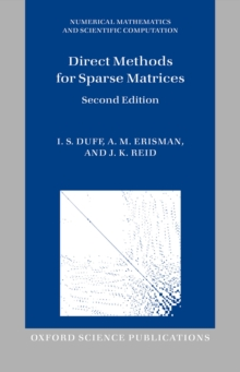 Direct Methods for Sparse Matrices, PDF eBook