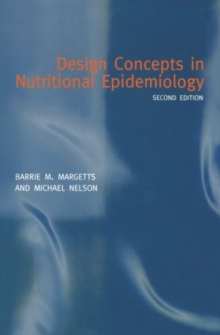 Design Concepts in Nutritional Epidemiology, Paperback / softback Book