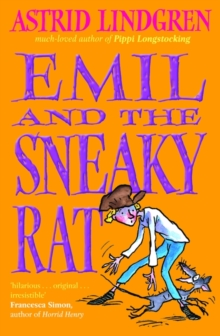 Emil and the Sneaky Rat, Paperback Book