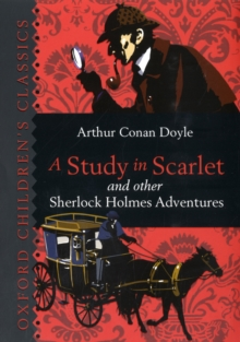 A Study in Scarlet & Other Sherlock Holmes Adventures, Hardback Book
