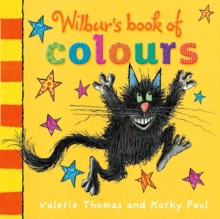 Wilbur's Book of Colours, Board book Book