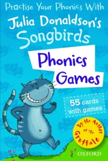 Oxford Reading Tree Songbirds: Phonics Games Flashcards, Cards Book