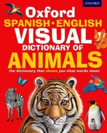 Oxford Spanish-English Visual Dictionary of Animals, Paperback Book