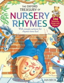 The Oxford Treasury of Nursery Rhymes, Paperback Book