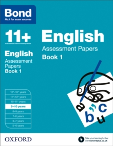Bond 11+: English: Assessment Papers : 9-10 Years Book 1, Paperback Book