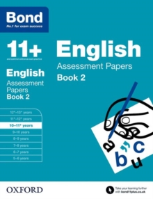 Bond 11+: English: Assessment Papers : 10-11+ Years Book 2, Paperback Book