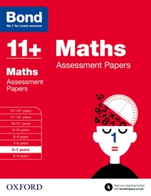 Bond 11+: Maths: Assessment Papers : 6-7 years, Paperback / softback Book