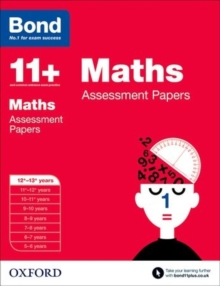 Bond 11+: Maths: Assessment Papers : 12+-13+ years, Paperback Book