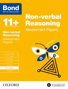 Bond 11+: Non-verbal Reasoning: Assessment Papers : 6-7 years, Paperback / softback Book