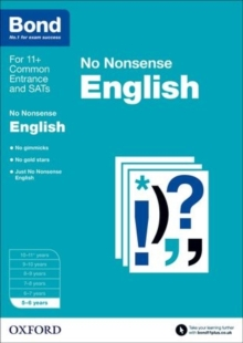 Bond: English: No Nonsense : 5-6 years, Paperback / softback Book