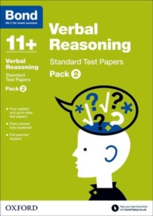 Bond 11+: Verbal Reasoning: Standard Test Papers : Pack 2, Paperback Book