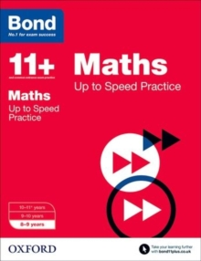Bond 11+: Maths: Up to Speed Papers : 8-9 years, Paperback / softback Book