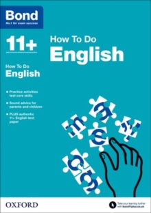 Bond 11+: English: How to Do, Paperback Book
