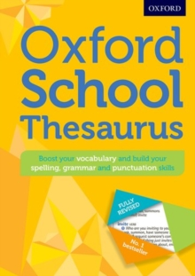 Oxford School Thesaurus, Mixed media product Book
