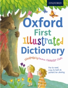 Oxford First Illustrated Dictionary, Paperback Book