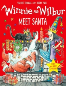 Winnie and Wilbur Meet Santa with audio CD, Mixed media product Book