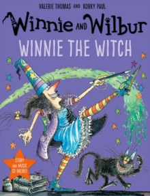 Winnie and Wilbur: Winnie the Witch with audio CD, Mixed media product Book