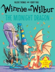 Winnie and Wilbur: The Midnight Dragon, Mixed media product Book