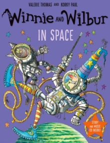 Winnie and Wilbur in Space, Mixed media product Book