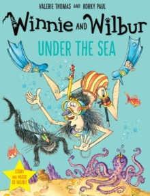 Winnie and Wilbur under the Sea with audio CD, Mixed media product Book