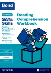 Bond SATs Skills: Reading Comprehension Workbook 9-10 Years, Paperback Book
