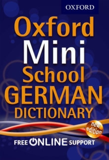 Oxford Mini School German Dictionary, Mixed media product Book