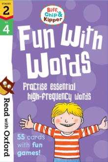 Read with Oxford: Stages 2-4: Biff, Chip and Kipper: Fun With Words Flashcards, Cards Book