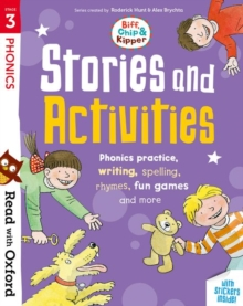 Read with Oxford: Stage 3: Biff, Chip and Kipper: Stories and Activities : Phonic practice, writing, spelling, rhymes, fun games and more, Mixed media product Book
