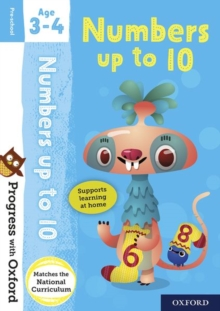 Progress with Oxford: Numbers up to 10 Age 3-4, Mixed media product Book