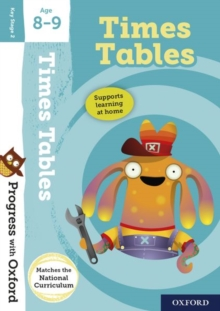 Progress with Oxford:: Times Tables Age 8-9, Mixed media product Book