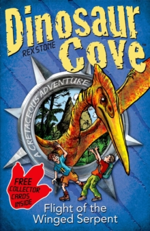 Dinosaur Cove: Flight of the Winged Serpent, Mixed media product Book