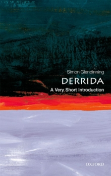 Derrida: A Very Short Introduction, Paperback / softback Book
