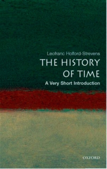 The History of Time: A Very Short Introduction, Paperback / softback Book