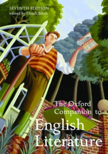 The Oxford Companion to English Literature, Hardback Book